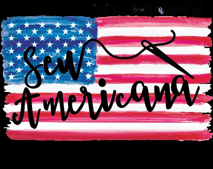Sew Americana 2019 Logo